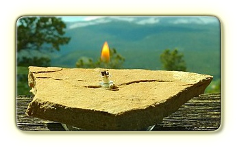 Natural Rock Candle - RC 1-5